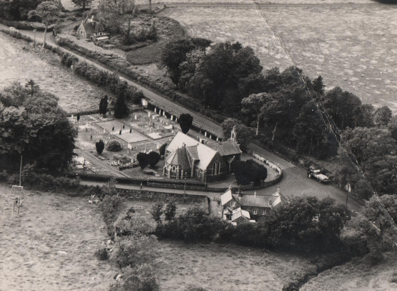photo-21a-craigs-parish-church-aerial-view-with-gatelodge-in-background