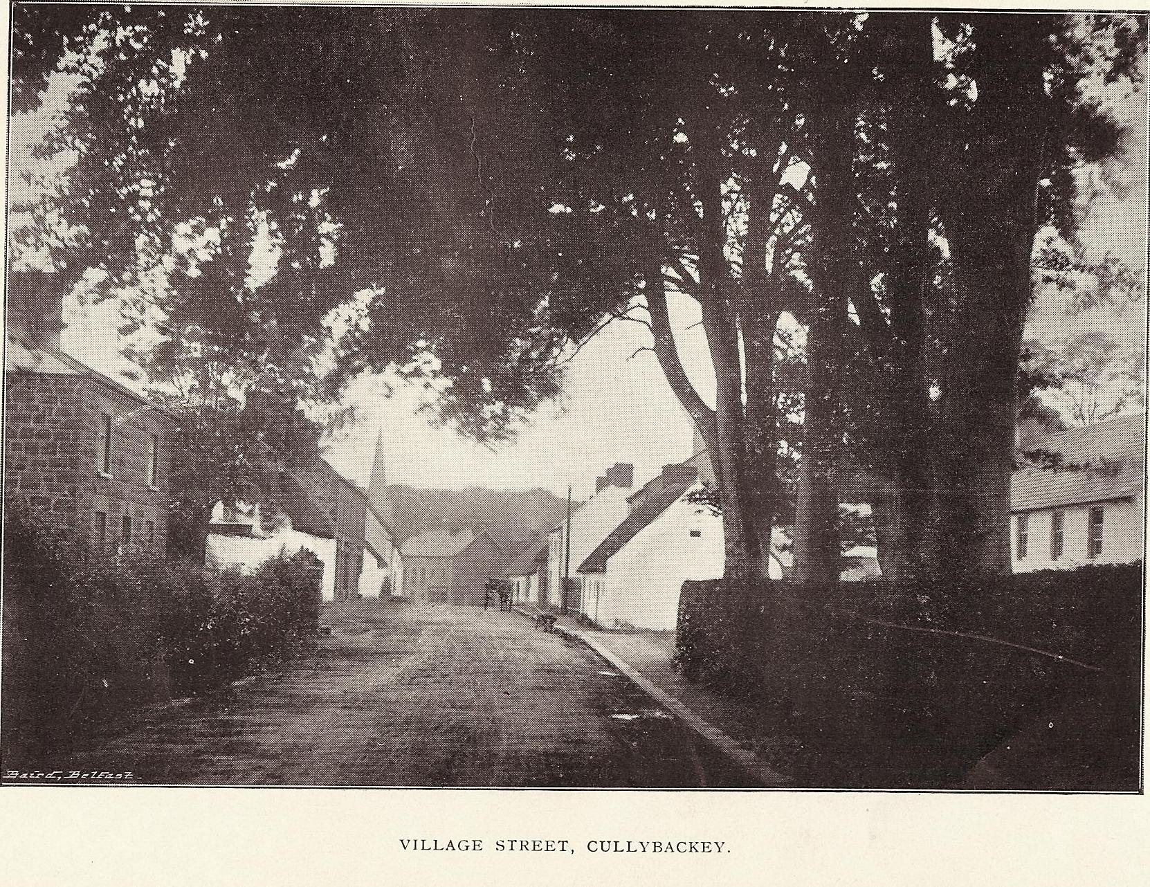 village-street-cullybackey-old