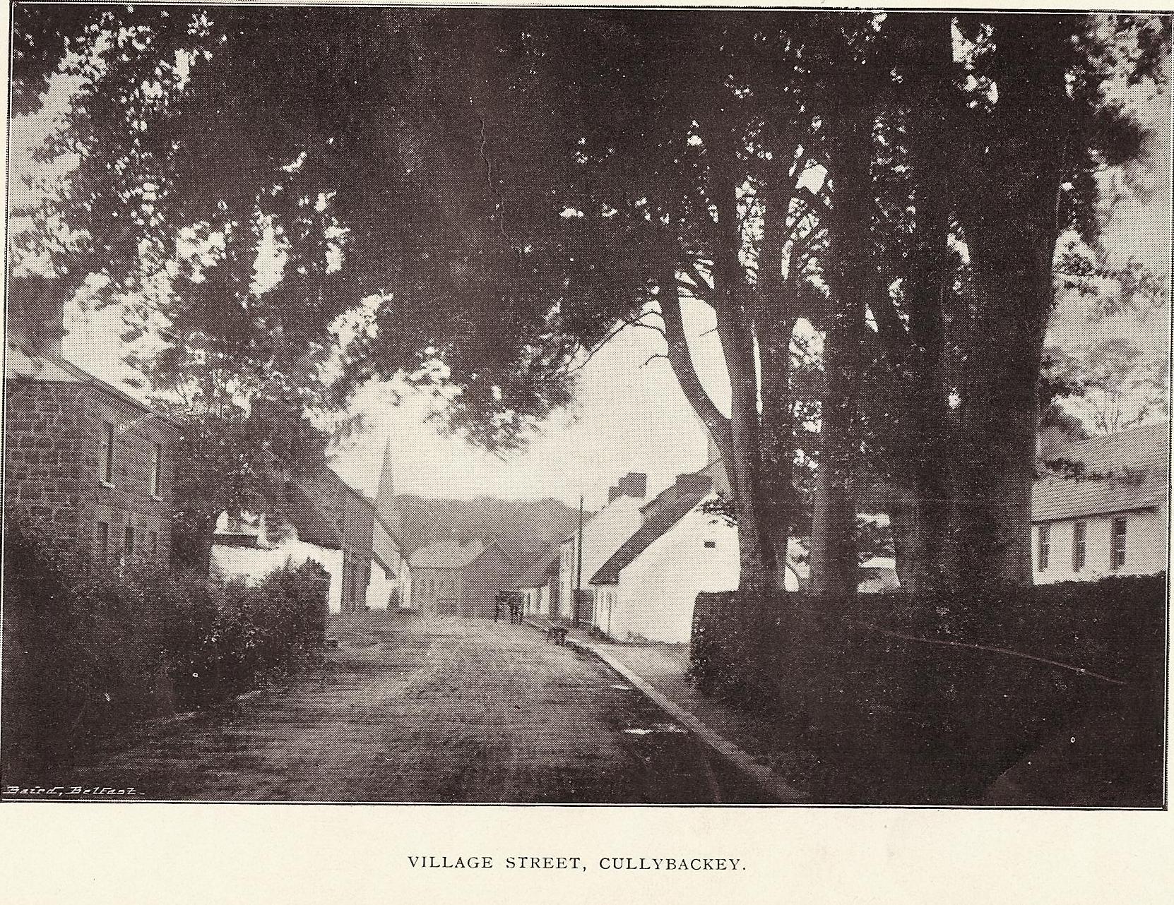 village-street-cullybackey-old