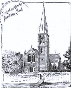 Artist's Impression of Cuningham Memorial Presbyterian Church 1910