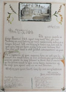 LETTER FROM CRAIGS SCHOOL (Large)