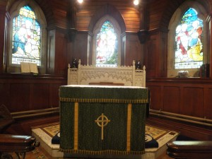 Craigs inside 2014 Sept Alter