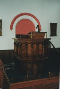 Pulpit Old R P Church   LIZ
