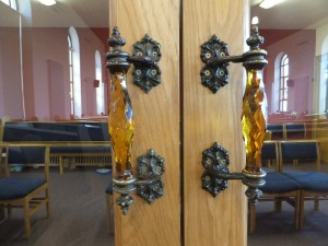 R P Church door handles